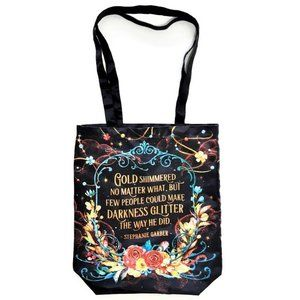 Owlcrate Caraval Series Legendary Rose Tote Bag
